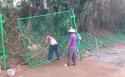 景区防护网安装